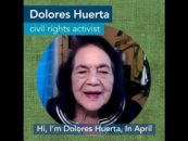 Civil Rights Icon Dolores Huerta – Urges People to Plan for the Health Care They Want