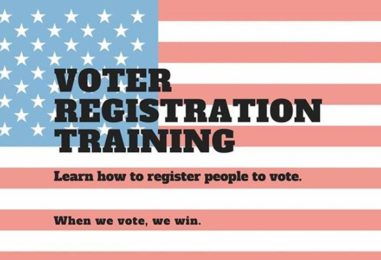 Virtual Voter Registration Training – from Democracy NC