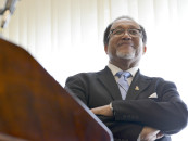 NNPA President and CEO Dr. Benjamin F. Chavis Excites at the NAACP Convention