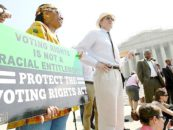 Voter Suppression Overshadows Voting Rights Act Celebration