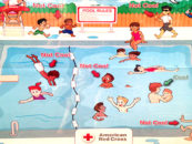 "Red Cross Apologizes for ""Racist"" Pool Safety Poster That Depicts Mostly Black Children Misbehaving"