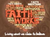 Spiritually Speaking: Faith Is a Verb