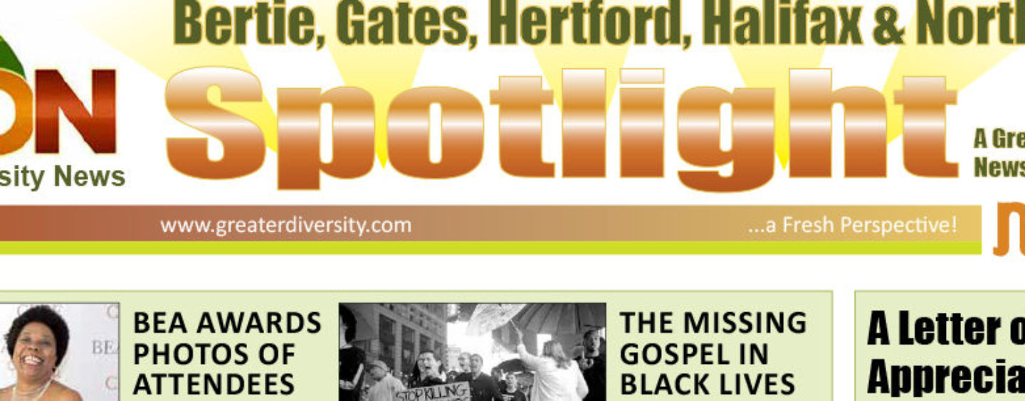 """Welcoming """"The Spotlight"""" A True Perspective from the African American Community"""