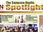 The Sampson-Duplin Spotlight for November 2016