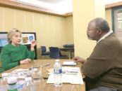 Days Before the Election, Clinton Talks about Criminal Justice, Jobs and Education with the Black Press