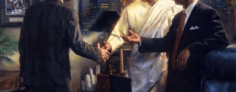 Jesus Christ, businessman: From John Humphrey Noyes to Donald Trump