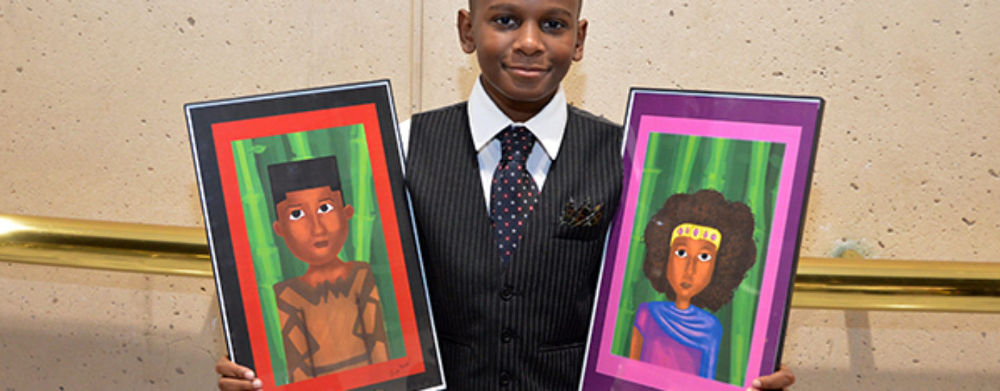 """12-Year-Old Artist Launches Inspirational """"Art for Kids"""""""