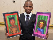"12-Year-Old Artist Launches Inspirational ""Art for Kids"""