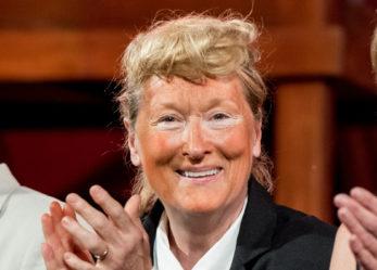 Orange Face: Meryl Streep impersonates for Donald Trump