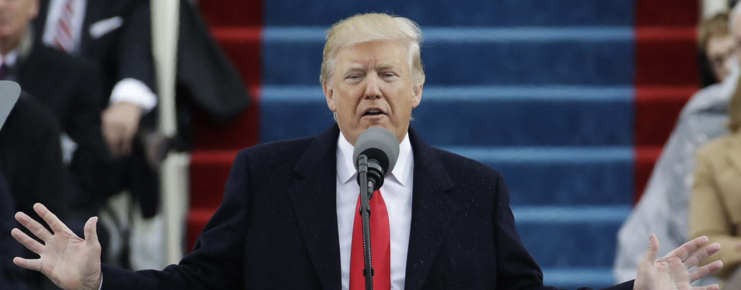 Trump's Inaugural Speech: 'Now arrives the hour of action!'