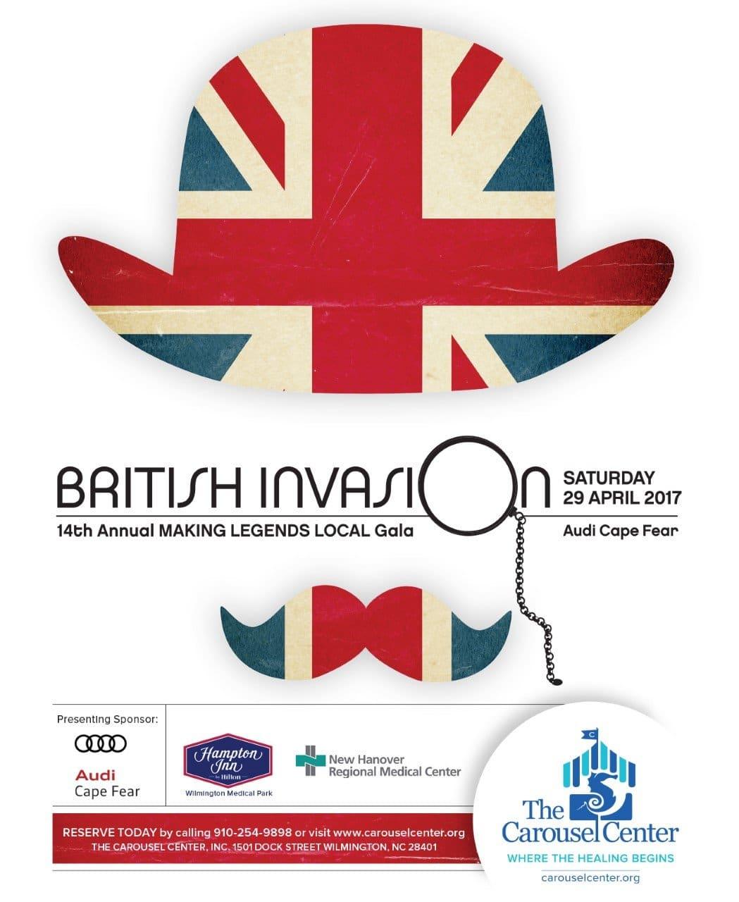 14th annual making legends local gala british invasion. Black Bedroom Furniture Sets. Home Design Ideas