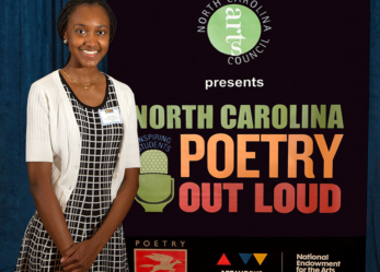Enloe High School Student Heads to Washington, D.C. for Poetry Out Loud Finals