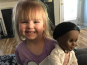 White Girl, Black Doll — 2-Year Old Shuts Down Cashier Who Questioned Her Choice