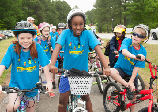 Hundreds of North Carolina Communities Gear Up for Bike to School Day