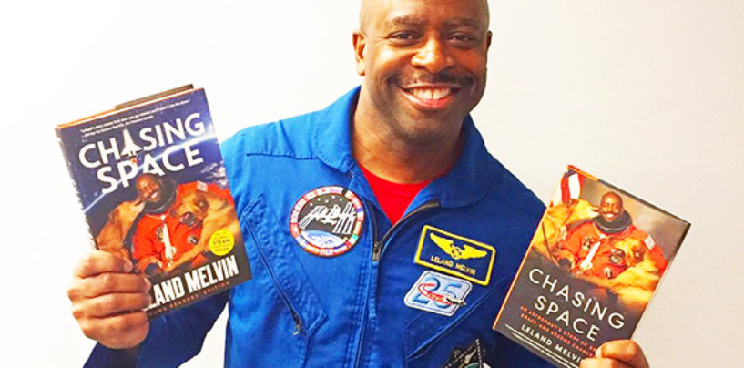 NFL Player Turned Astronaut, Leland Melvin, Tells His Inspirational Story in New Book