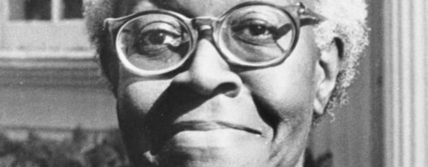 Gwendolyn Brooks Won the Pulitzer Prize while Living in a Housing Project