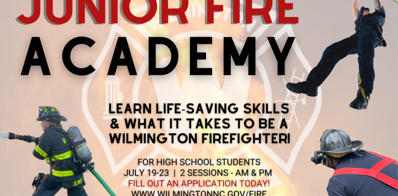 WFD to Hold First-Ever Junior Fire Academy