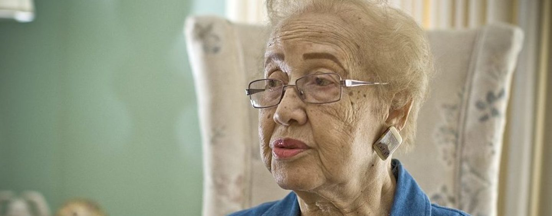 """Hidden Figures"" Katherine Johnson Is 100"