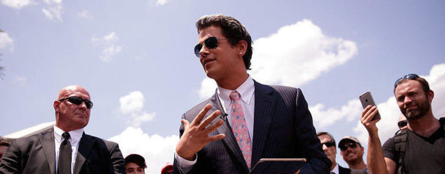 Milo Wants Vigilantes to Start Killing Journalists, and He's Not Being 'Ironic'