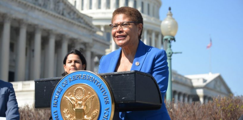 Congresswoman Bass Says It's More than Just Manchin and Sinema Holding Back Democratic Agenda