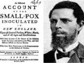 A Slave's African Medical Science Saves the Lives of Bostonians During the 1721 Smallpox Epidemic
