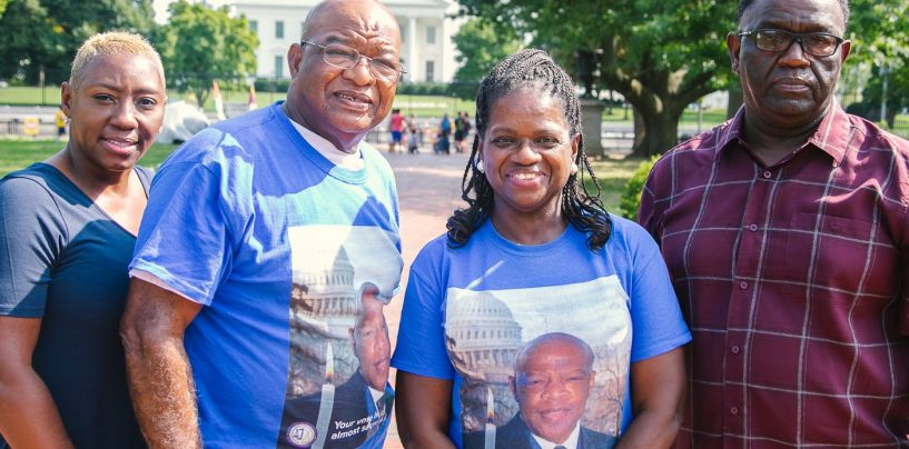 Family of Congressman John Lewis Carrying his Legacy by Fighting for Voting Rights