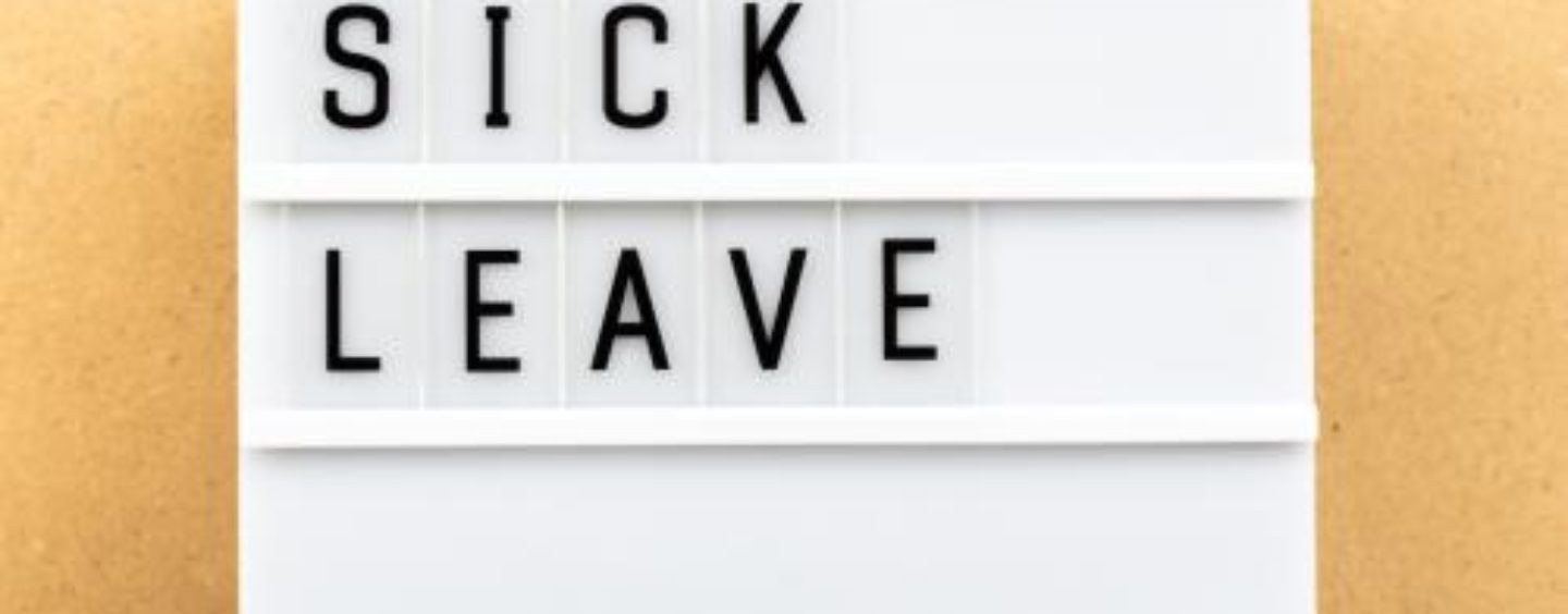 New Federal Sick Leave Law – Who's Eligible, Who's Not and How Many Weeks