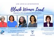 Virtual Event June 19 – Juneteenth Celebration, Black Women Lead: Voting in the 20s