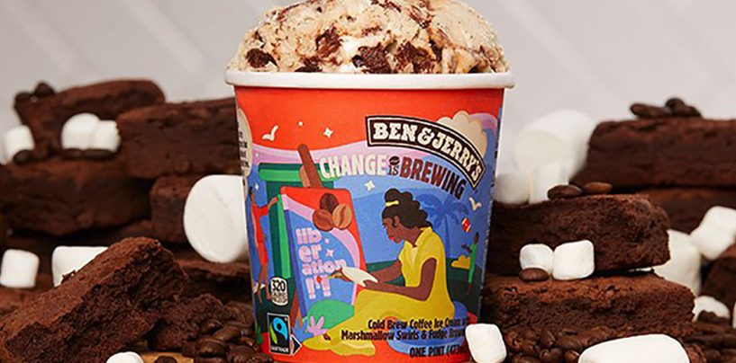 Ben & Jerry's New Cold Brew Ice Cream Supports a New Vision for Public Safety