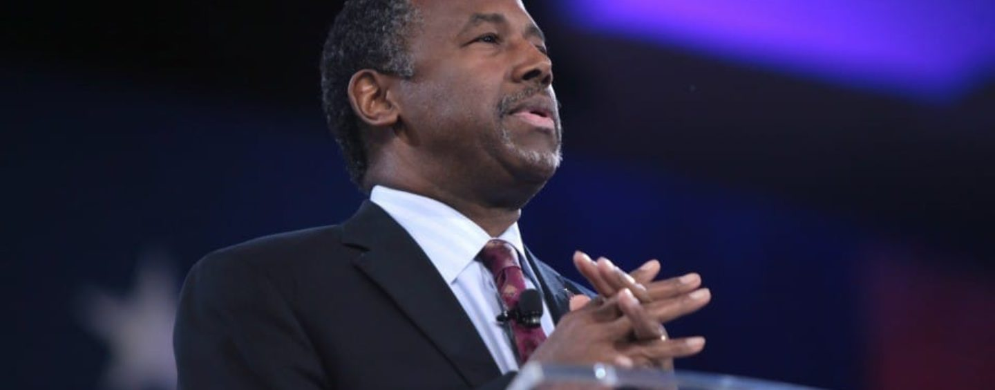'The Stuff of Slumlords': Ben Carson Unveils Plan to Triple Rent on Poor Americans Using Housing Assistance