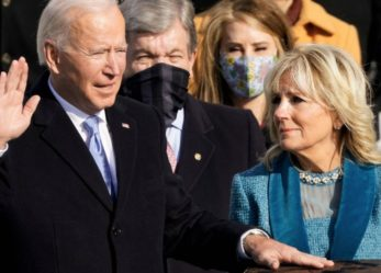 """""""This Is Democracy's Day"""": Joe Biden Sworn In as 46th President of the United States"""