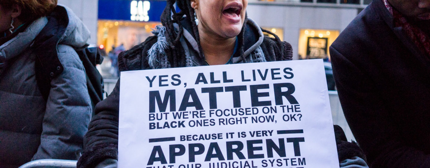 """Seizing the Moment While Black Lives Do Matter – Op-ed from """"Just Saying…"""""""