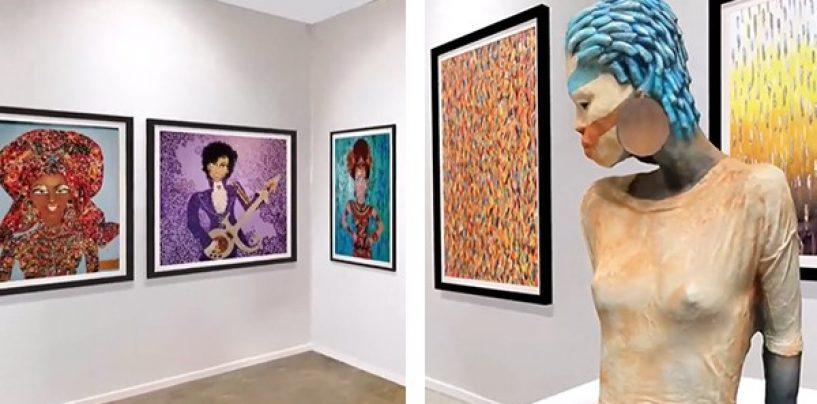 Virtual Art Exhibit Showcases the Work of 60 Internationally Renowned Black Artists