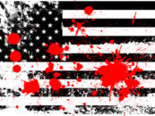 The American Flag Is Soaked in Black Blood