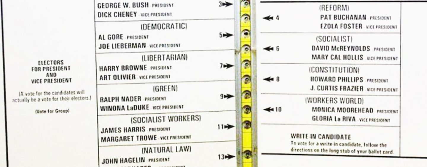 The Florida Election & the Ghost of Gore-Bush Recount