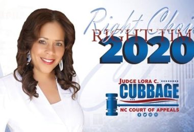 Judge Lora Christine Cubbage for NC Court of Appeals – Virtual Event Aug. 26th