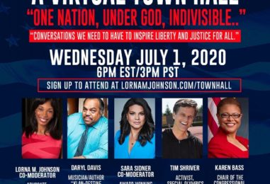 Virtual Town Hall: 'One Nation, Under God, Indivisible…Conversations that Inspire Liberty and Justice for All'