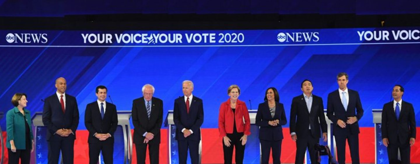 Opinion Polls vs. Debates — Democrats in Battle Over Voter Influence