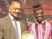 Dr. Djibril Diallo Receives Rainbow PUSH Coalition 2018 International Humanitarian Award