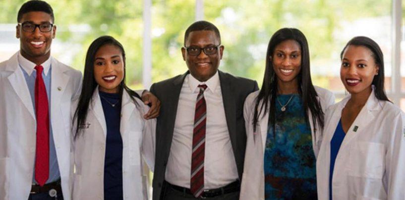 Family of Black Doctors has Social Media Buzzing – Each Attended the West Virginia School of Medicine.