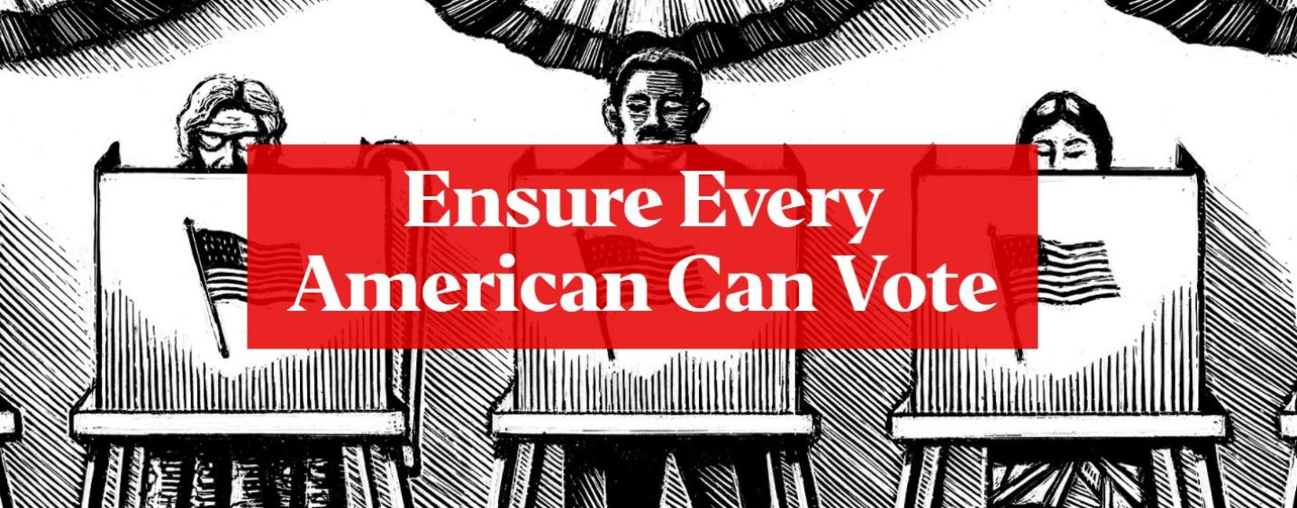 The Big Lie and the Push to Restrict Voting
