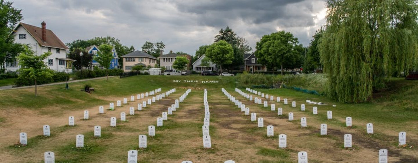 Black Deaths Matter: The Centuries-Old Struggle to Memorialize Slaves and Victims of Racism