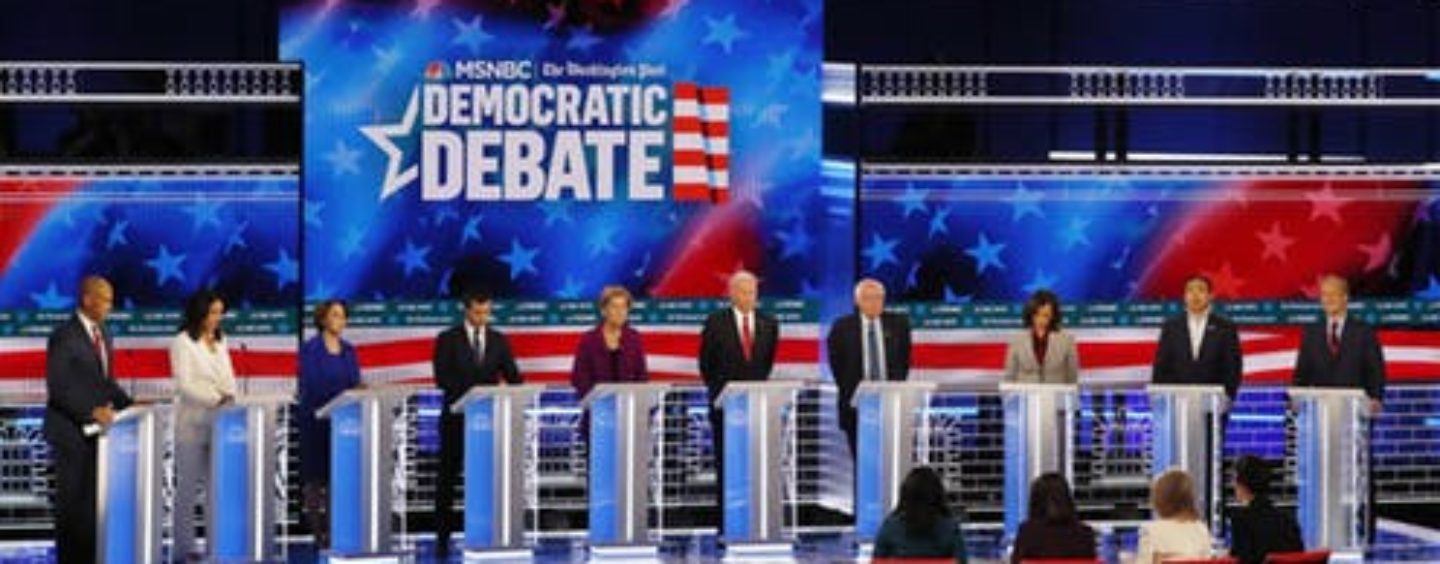 Democratic Debate: Candidates Discuss Their Plans to Help Families