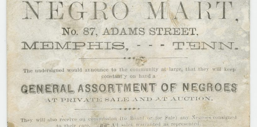 The Brutal Trade In Enslaved People Within the US Has Been Largely Whitewashed Out of History