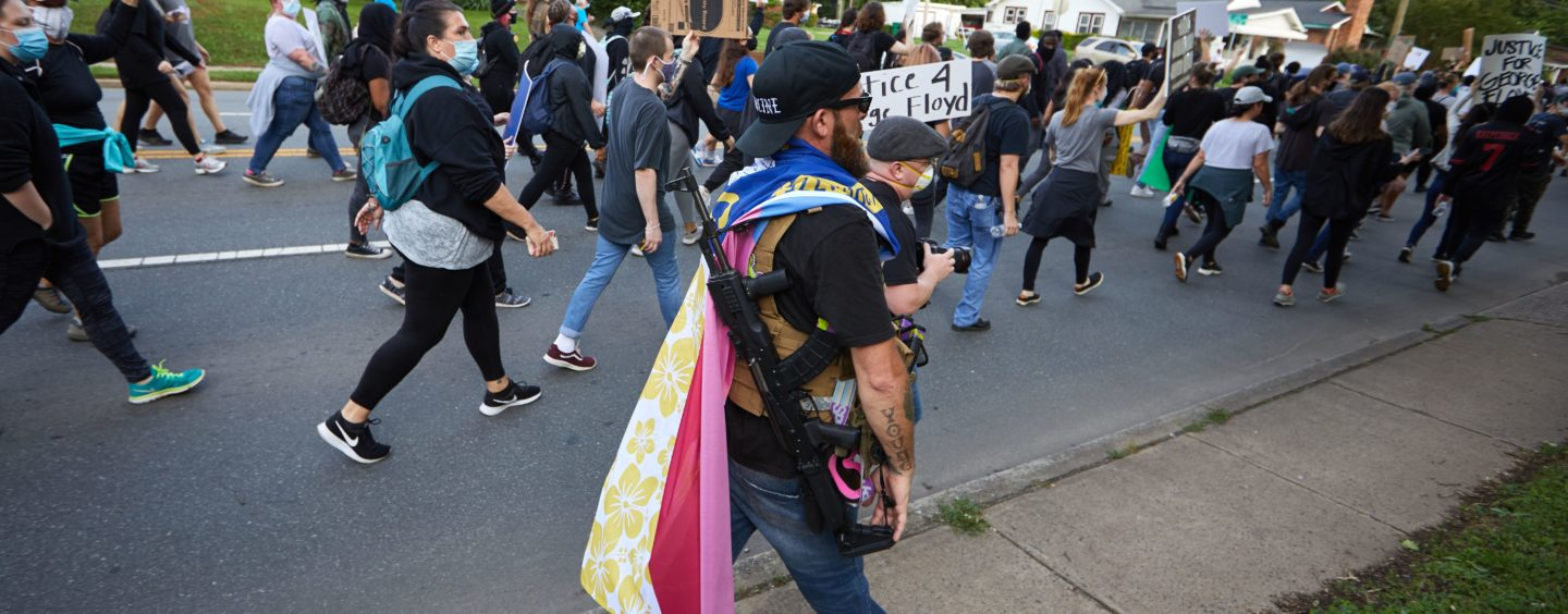 Why Are White Supremacists Protesting the Deaths of Black People?