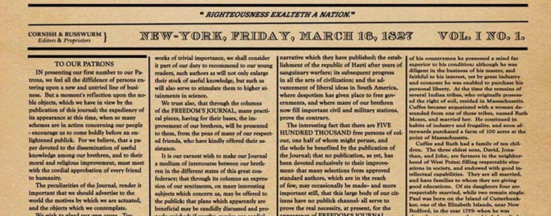 Black Press of America Celebrates 193 Years of Freedom-Fighting Journalism