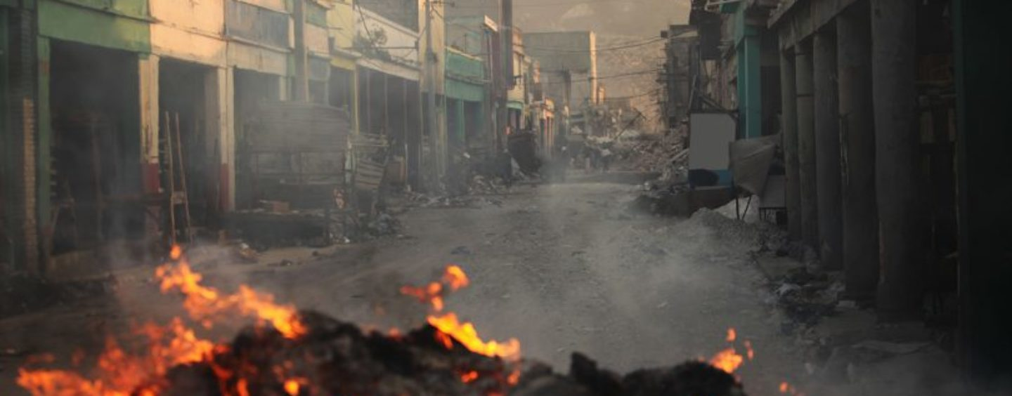 Joint Statement on Violent Protests That Have Left Haiti at a Standstill
