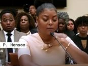 Empire Star Taraji Henson Speaks on Suicide and Mental Health on Capitol Hill