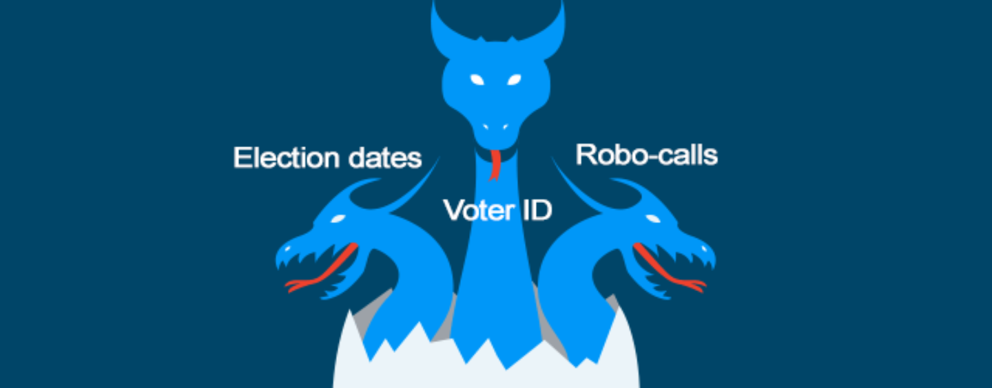 Defeating Voter Suppression Tactics Is Like Battling a Hydra