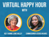 Virtual Happy Hour with Yvonne Holley and Jessica Holmes – May 27th